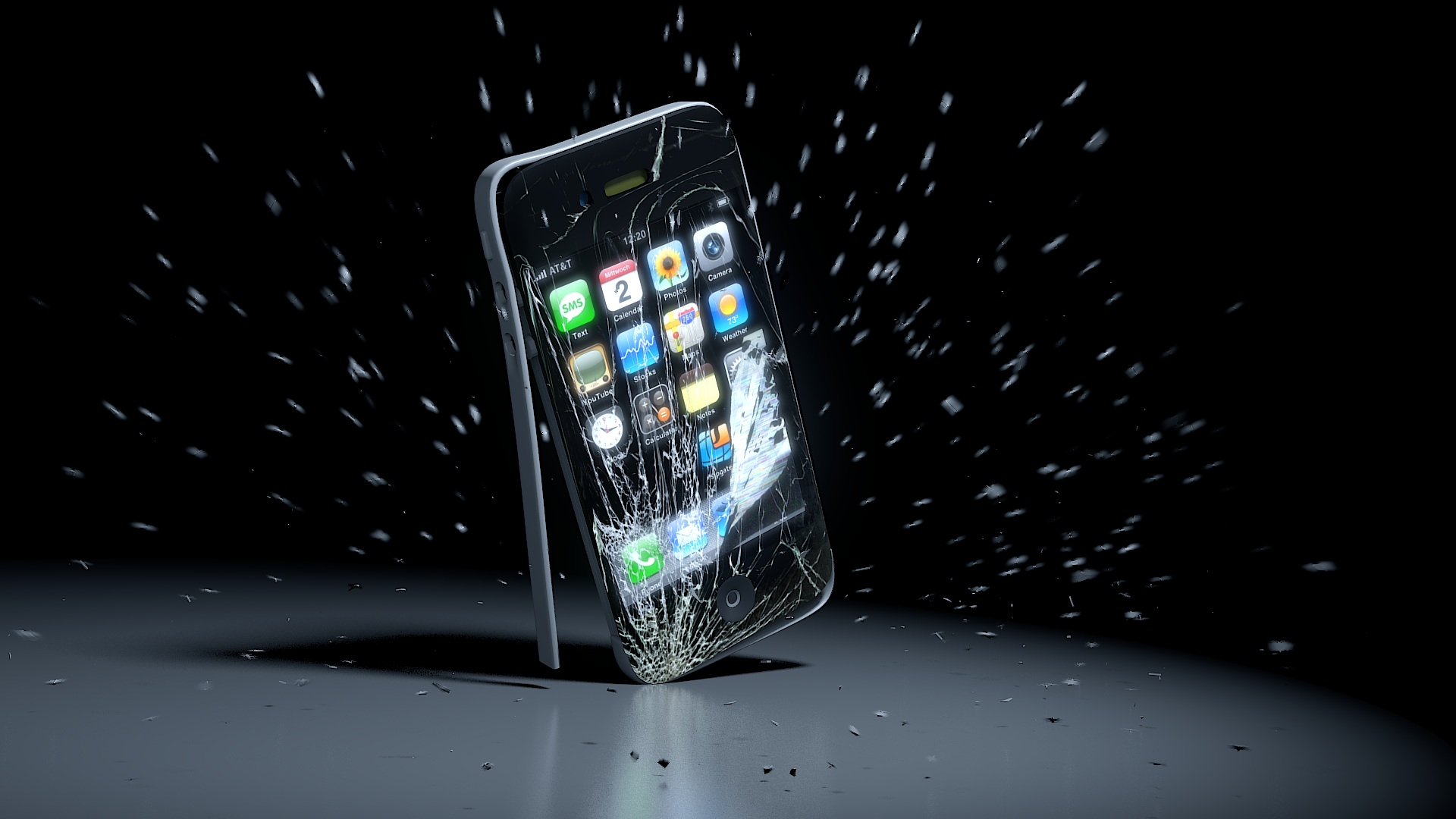 Kak pravilno uhazhivat za smartfonom razbityj smartfon