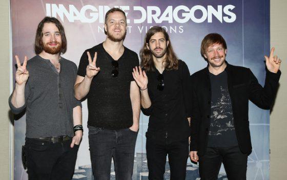 Imagine dragons выступят в Киеве 31 августа