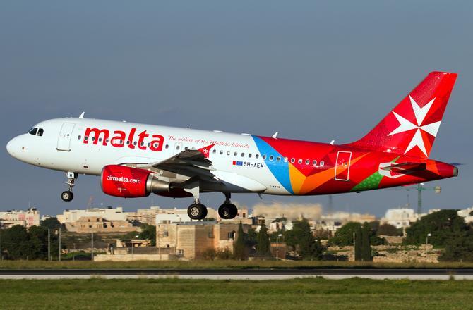 9H AEM Air Malta Airbus A319 100 PlanespottersNet 335270