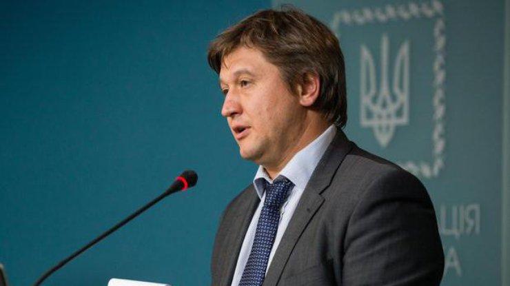 ministr finansov Aleksandr Danilyuk