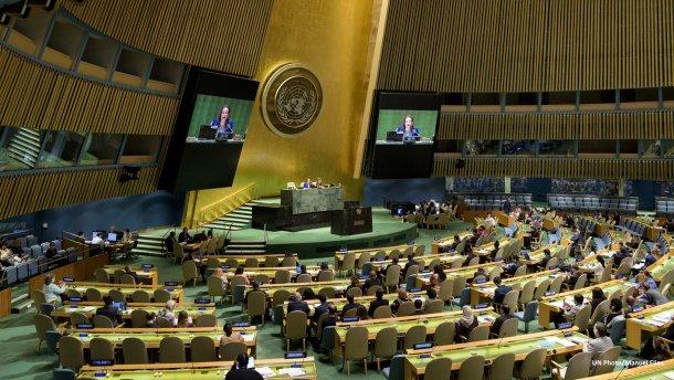 ВНью-Йорке стартовала 74-я сессия Генеральной ассамблеи ООН